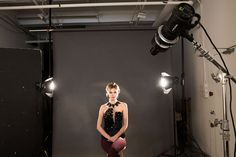 Lindsay Adler Photography - Film Noir - Spot Projection - Creative Studio Lighting setup