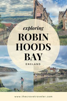 """Take a day exploring the seaside town of Robin Hood's Bay, this little known """"locals"""" vacation spot on the northeastern English coast. Robin Hoods Bay, Seaside Towns, Europe Travel Tips, Vacation Spots, Roads, Yorkshire, Touring, Exploring, Coastal"""