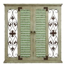 Found it at Wayfair - Window Rustic Wood and Metal Wall Decor