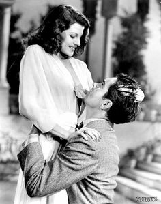 Tyrone Power. Full of desire. Hayworth smiling. Blood and Sand. '41.