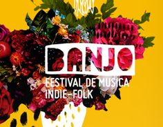 """Check out this project: """"Banjo, Festival de musica indie folk""""… Latino Film Festival, Indie Festival, Film Festival Poster, Banjo, Cut Out Photoshop, Contents Page Design, Arte Latina, Event Branding, Graphic Design Projects"""