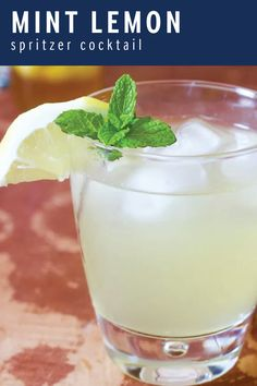 When hosting a garden party this spring, look at beautiful plants while enjoying every sip of a Mint and Lemon Spritzer. With its fresh taste, this flavorful cocktail is made with Finlandia Vodka. Click here to see the tasty recipe!