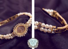 Little Miss Pearls Watch by CircusGirlVintage on Etsy, £33.00