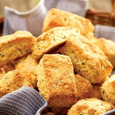 #RecipeoftheDay: Cheddar Cornmeal Biscuits. Who doesn't love those yummy warm biscuits served at your family's favorite barbecue restaurant? Well, you don't have to leave home to enjoy that delicious Southern-style favorite – this simple biscuit recipe...