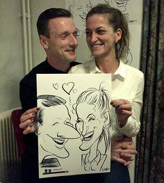 Bedrijfsevent DAF - De Karikaturist