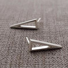 On Point Stud Earrings – Anni Anni Sterling Silver Earrings, Stud Earrings, Accessories, Stud Earring, Earring Studs, Jewelry Accessories