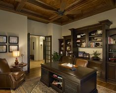 executive office decorating tips | titdilapa: Home Offices