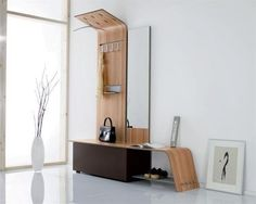 contemporary storage furniture for entryway design and foyer decorating