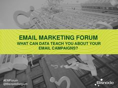 What can data teach you about your email campaigns?