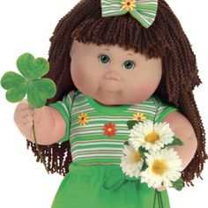 Spring time cabbage patch kid.