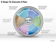 1113 Business Ppt diagram 6 Steps To Execute A Plan Powerpoint Template