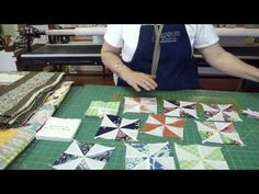 Jenny from the Missouri Star Quilt Company teaches you to make pinwheels the easy way. You'll be amazed with this tip!.