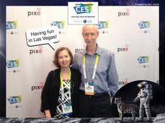 Having fun in Las Vegas! #CES2015 #PixeSocial