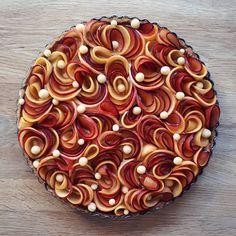 before baking...plum and nectarine frangipane tart. By julie_jonesuk Follow  @julie_jonesuk on Instagram —————————— Follow…