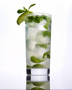 The REAL Cuban Mojito!    1 1/2 oz. Rum   12 fresh mint leaves  1/2 lime  2 tbsp. simple syrup (or 4 tsp. sugar)  Top off with club soda  Garnish: lime wedge and sprig of mint       Directions: Muddle mint leaves and lime in tall glass.  Cover with simple syrup and fill glass with ice; add Rum and club soda; stir well.  Garnish glass with lime wedge and sprigs of mint.    #Cuba #Mojito #Recipe #Cocktail