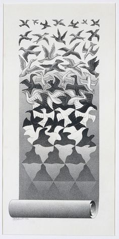 Escher art | Escher // Liberation Art Print