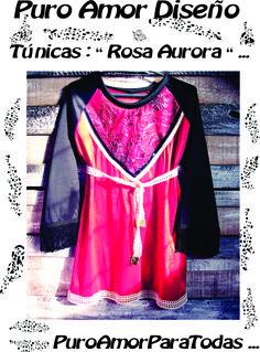 Túnicas + mini dress = PuroAmorDiseño ♥