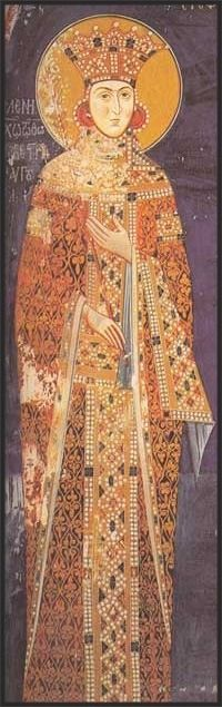 """medieval-women: """"Jelena of Bulgaria Queen of Serbia, and from 1346 Empress of the Serbs and Greeks Born c.1310 - Died c.1376 Claim to fame: a capable and respected Orthodox queen As the sister of Ivan..."""