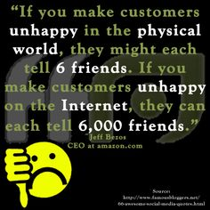 Which do you think customers value more - word of mouth from their friends or what they read online?