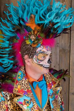 Creepy Costumes, Costume Hats, Up Halloween, Halloween Makeup, Foam Wigs, Burning Man Art, Avant Garde Hair, Wig Hat, Burning Man Outfits