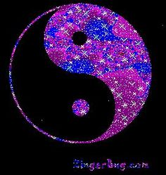 Yin Yang Purple Glitter Symbol Glitter Graphic, Greeting, Comment, Meme or GIF Cute Emoji Wallpaper, Love Wallpaper, Wallpaper Backgrounds, Wallpapers, Ying Yang Wallpaper, Feng Shui, Yin Yang Art, Art Drawings Sketches Simple, Cards