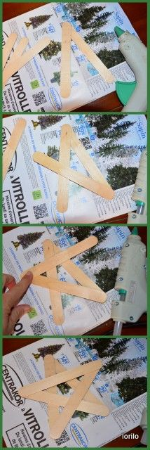 Cover it even better with paper napkin technology - Christmas crafts - noel Christmas Star, Christmas Crafts For Kids, Christmas Projects, Simple Christmas, Winter Christmas, Handmade Christmas, Holiday Crafts, Christmas Ornaments, Christmas Cover