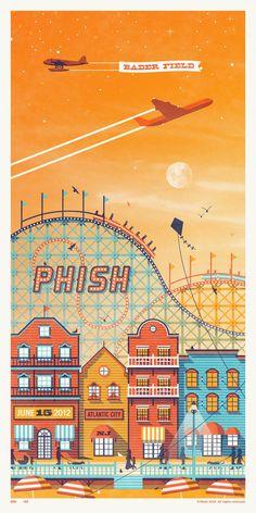 DKNG Studios » Phish // Atlantic City, NJ Poster Series