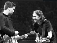 Matt's son & Stone | Pearl Jam | Portland - during Rockin' in the Free World Love Me Like, True Love, Matt Cameron, Pearl Jam Eddie Vedder, Temple Of The Dog, Gossard, Alice In Chains, My Church, Beautiful Friend