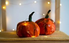 Make pumpkins that will last forever with our resident crafter Katie Dolan! Follow her how to make a paper mache #pumpkin tutorial and cut, glue and paint your own autumnal pumpkins 🎃