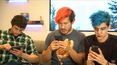 Tyler, Mark and Ethan    Markiplier's Crisis Text Line Charity Livestream // 11/19/17
