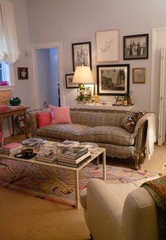 A nice living room needs a beautiful carpet. Get some ideas at www.HeavenRugs.com