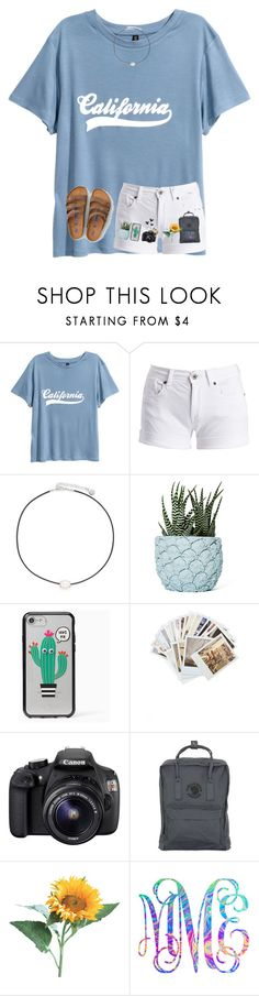 """takin' pics today "" by arieannahicks on Polyvore featuring Barbour International, Majorica, Chen Chen & Kai Williams, Kate Spade, Chronicle Books, Eos, Fjällräven, Lilly Pulitzer and American Eagle Outfitters"