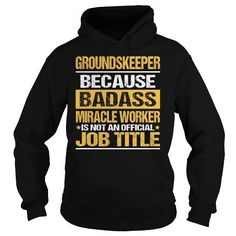 Awesome Tee For Groundskeeper T Shirts, Hoodies Sweatshirts. Check price ==► http://store.customtshirts.xyz/go.php?u=https://www.sunfrog.com/LifeStyle/Awesome-Tee-For-Groundskeeper-93909921-Black-Hoodie.html?41382