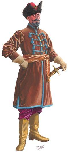 Croatian officer, 1640