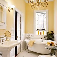 I adore claw foot bath tubs.