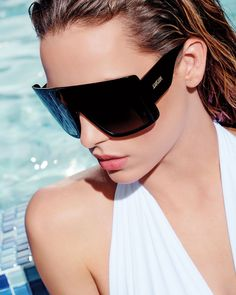 Sunny Side Up: Neiman Marcus Spotlights Summer Designer Shades, Sunglasses Stylish Sunglasses, Black Sunglasses, Sunglasses Accessories, Sunglasses Women, Fashion Accessories, Latest Sunglasses, Neiman Marcus, Christian Dior Sunglasses, Designer Shades