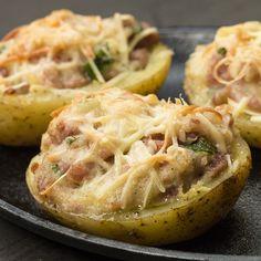 Batata + linguiça + um forno: uma história de amor
