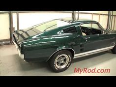 This guy has a lot of videos on his site of rare cars such as a Can Am and others.  I watched this video 100 times before buying my 69' Mustang.  I am still in love with the 67-68 fastback model years.  This is a MUST WATCH.