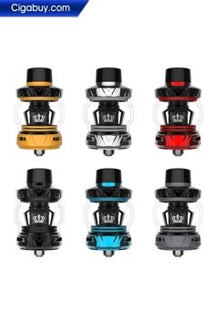 The Uwell Crown 5 Tank is an upgraded designed tank of its predecessor, the Uwell Crown 4 Tank. The Uwell Crown 5 Tank features a 5mL capacity, Mesh Pro-FOCS coil system and Uwell's patented self cleaning system.