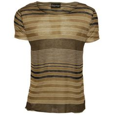 Basic Striped Tee by Cloak and Dagger