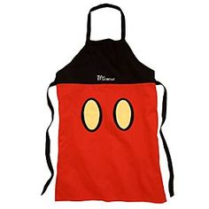 Disney Mickey Mouse Apron - Personalizable | Disney StoreMickey Mouse Apron - Personalizable - This Mickey Mouse Apron is definitely not short on style! Inspired by Mickey Mouse's famous shorts, this Disney apron will bring the added ingredient of fun into the kitchen.