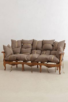 Insane, but gorgeous and so much fun! Deconstructed Sofa - anthropologie.com