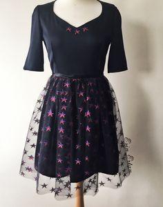 Esin Ertan Star Tulle Dress- Yildizli Elbise Esin Ertan 2016 #esinertan