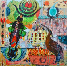 African Artists, Painting, Painting Art, Paintings, Painted Canvas, Drawings