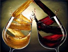 Swirl it, nice wine art