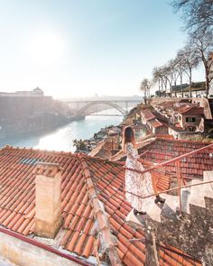 20 Best Instagram Spots in Porto - Including Hidden Gems! Day Trips From Porto, Best Places In Portugal, Porto City, Best Instagram Photos, Miramar Beach, Best Sunset, Portugal Travel, Photo Location, Places To See