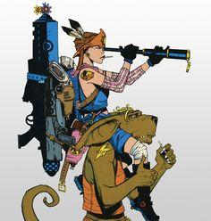 jamie hewlett tank girl
