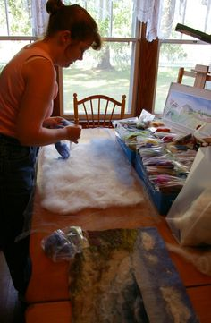 Diane Christian, feltmaker. For more fiber art content, join the FiberArtNow.net tribe.