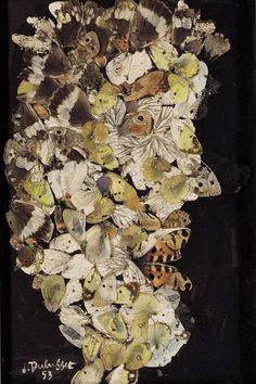 """""""Cheveux de Sylvain"""" - by Jean Dubuffet"""