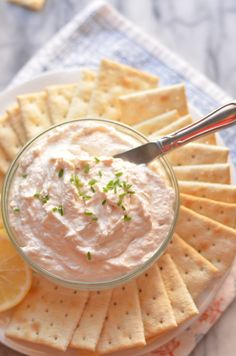Creamy Smoked Trout Pate | coffeeandquinoa.com Fancy Appetizers, Appetizer Dips, Appetizer Recipes, Dip Recipes, Trout Recipes, Seafood Recipes, Smoked Trout Pate, Savoury Biscuits, Finger Food